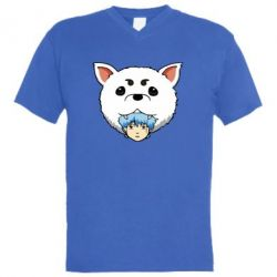 Чоловіча футболка з V-подібним вирізом Садахару