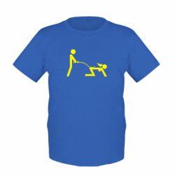 Детская футболка Садо-мазо - FatLine