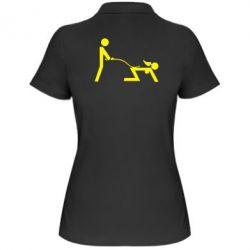 Женская футболка поло Садо-мазо - FatLine