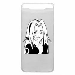 Чехол для Samsung A80 Sakura girl
