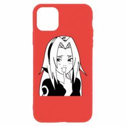 Чехол для iPhone 11 Sakura girl