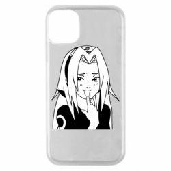 Чехол для iPhone 11 Pro Sakura girl