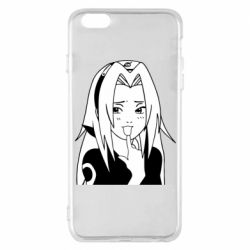 Чехол для iPhone 6 Plus/6S Plus Sakura girl