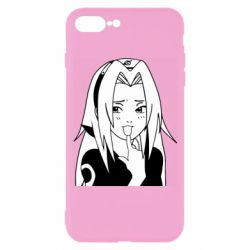 Чехол для iPhone 7 Plus Sakura girl