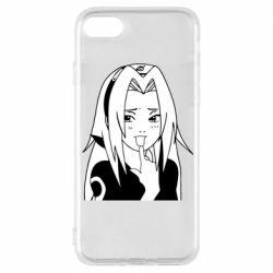 Чехол для iPhone 8 Sakura girl