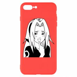 Чехол для iPhone 8 Plus Sakura girl