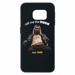 Чехол для Samsung S6 EDGE Сall me the DUDE not THOR