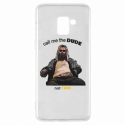 Чехол для Samsung A8+ 2018 Сall me the DUDE not THOR