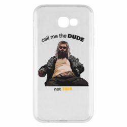 Чехол для Samsung A7 2017 Сall me the DUDE not THOR