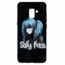 Чехол для Samsung A8+ 2018 Sally Face 10 - FatLine