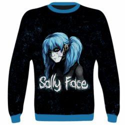3D реглан (свитшот) Sally Face 10 - FatLine
