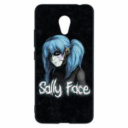 Чехол для Meizu M5c Sally Face 10 - FatLine
