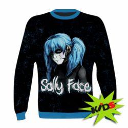 Детский 3D реглан Sally Face 10 - FatLine