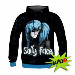 Детская 3D толстовка Sally Face 10 - FatLine