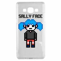 Чохол для Samsung A5 2015 Sally face pixel