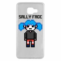 Чохол для Samsung A7 2016 Sally face pixel