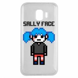 Чохол для Samsung J2 2018 Sally face pixel