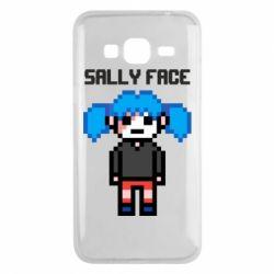 Чохол для Samsung J3 2016 Sally face pixel