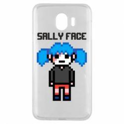Чохол для Samsung J4 Sally face pixel