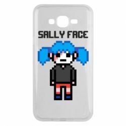 Чохол для Samsung J7 2015 Sally face pixel