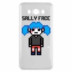 Чохол для Samsung J7 2016 Sally face pixel