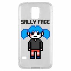 Чохол для Samsung S5 Sally face pixel