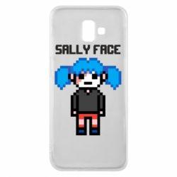 Чохол для Samsung J6 Plus 2018 Sally face pixel