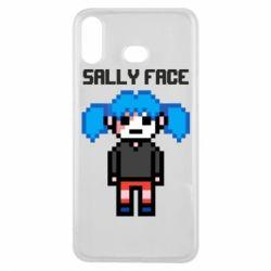 Чохол для Samsung A6s Sally face pixel