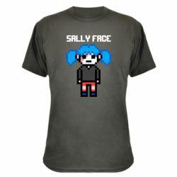 Камуфляжна футболка Sally face pixel