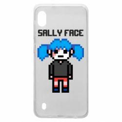 Чохол для Samsung A10 Sally face pixel