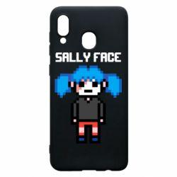 Чохол для Samsung A20 Sally face pixel