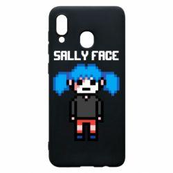 Чохол для Samsung A30 Sally face pixel