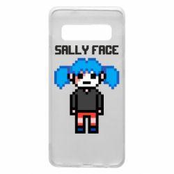 Чохол для Samsung S10 Sally face pixel