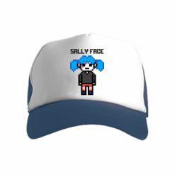 Дитяча кепка-тракер Sally face pixel