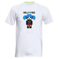 Чоловіча спортивна футболка Sally face pixel