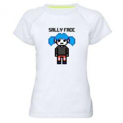 Жіноча спортивна футболка Sally face pixel