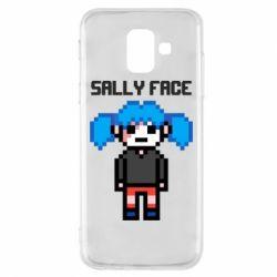 Чохол для Samsung A6 2018 Sally face pixel