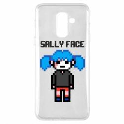 Чохол для Samsung A6+ 2018 Sally face pixel