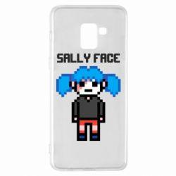 Чохол для Samsung A8+ 2018 Sally face pixel