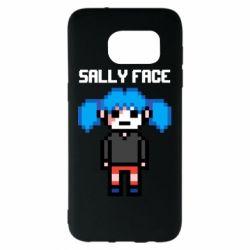 Чохол для Samsung S7 EDGE Sally face pixel