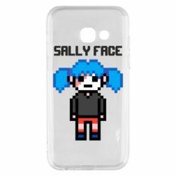 Чохол для Samsung A3 2017 Sally face pixel