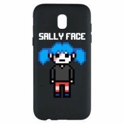 Чохол для Samsung J5 2017 Sally face pixel