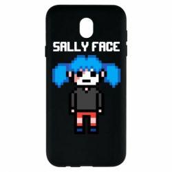 Чохол для Samsung J7 2017 Sally face pixel