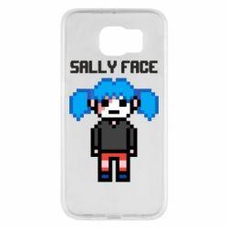 Чохол для Samsung S6 Sally face pixel