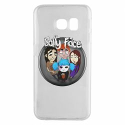 Чехол для Samsung S6 EDGE Sally face soundtrack