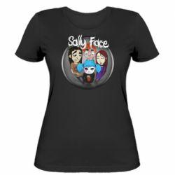 Женская футболка Sally face soundtrack