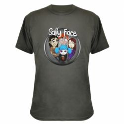 Камуфляжная футболка Sally face soundtrack