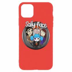 Чехол для iPhone 11 Sally face soundtrack