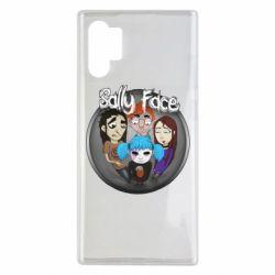 Чехол для Samsung Note 10 Plus Sally face soundtrack