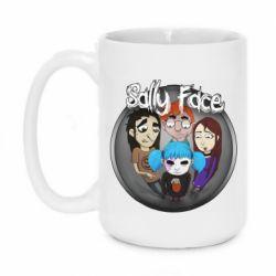 Кружка 420ml Sally face soundtrack